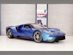 FORD GT 2017 ~ BLUE | 1:18 Diecast Model Car