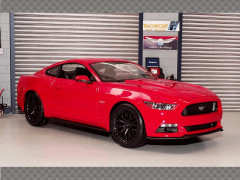 FORD MUSTANG 2015 RED | 1:18 Diecast Model Car