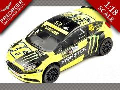 FORD FIESTA RS WRC No46 RALLY MONZA ~ 2015 | 1:18 Diecast Model Car