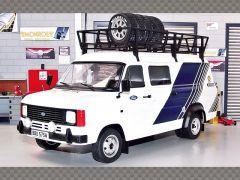 FORD TRANSIT MK2 ~ TEAM FORD | 1:18 Diecast Model Car