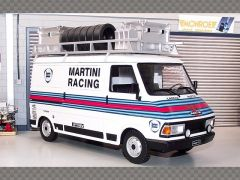 FIAT 242 ~ MARTINI RALLY SERVICE BARGE | 1:18 Diecast Model Car
