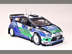 FORD FIESTA RS WRC ~ ARGENTINA RALLY 2012 | 1:43 Diecast Model Car