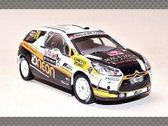 CITROEN DS R3 ~ MONTE CARLO RALLY 2011 | 1:43 Diecast Model Car