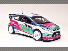 FORD FIESTA WRCn SIMONCELLI UK TEST ~ 2011 | 1:43 Diecast Model Car
