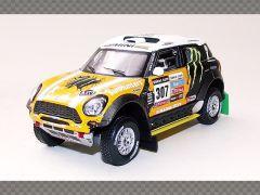 MINI ALL 4 RACING ~ DAKAR | 1:43 Diecast Model Car