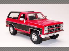 CHEVROLET K5 BLAZER ~ 1980 | 1:24 Diecast Model Car