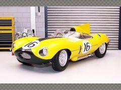 JAGUAR D TYPE ~ LE MANS 1957 | 1:18 Diecast Model Car