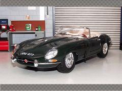 JAGUAR E TYPE CABRIOLET -1961 | 1:18 Diecast Model Car