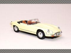 JAGUAR E TYPE CABRIO ~ YELLOW   1:43 Diecast Model Car