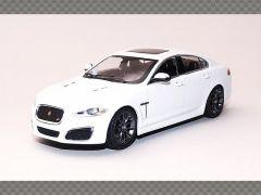 JAGUAR XFR ~ WHITE | 1:43 Diecast Model Car