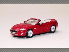 JAGUAR XK CONVERTIBLE - RED | 1:76 Diecast Model Car