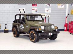 JEEP WRANGLER RUBICON | 1:27 Scale Diecast Model Car