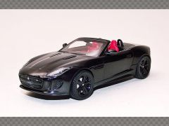 JAGUAR F TYPE V8 ~ BLACK   1:43 Diecast Model Car