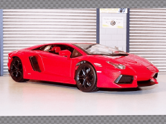LAMBORGHINI AVENTADOR LP700-4 ~ ORANGE | 1:18 Diecast Model Car