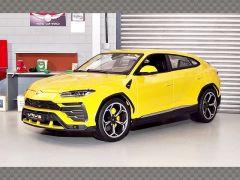 LAMBORGHINI URUS ~ YELLOW | 1:18 Diecast Model Car