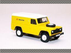 LAND ROVER DEFENDER - BRITISH RAIL - Yellow   1:76 Diecast Model Car