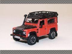 LAND ROVER DEFENDER 90 ORANGE | 1:76 Diecast Model Car