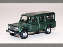 LAND ROVER DEFENDER - GREEN | 1:76 Diecast Model Car