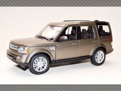 LAND ROVER DISCOVERY 4 ~ BROWN | 1:24 Diecast Model Car