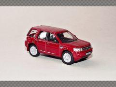 LAND ROVER FREELANDER - RED   1:76 Diecast Model Car
