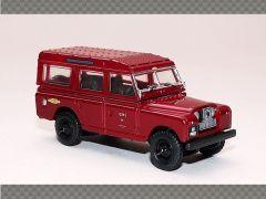LAND ROVER SERIES 2 - BRITISH RAILWAYS - ALL RED   1:76 Diecast Model Car