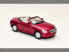 LEXUS SC430 ~ RED | 1:72 Diecast Model Car