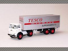 LEYLAND BEAVER BOX TRAILER ~ TESCO | 1:76 Diecast Model Truck