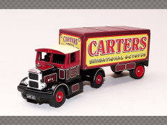 SCAMMELL TRACTOR AND TRAILER ~ CARTERS STEAM FAIR | 1:76 Diecast Truck