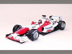 TOYOTA TF104B - RICARDO ZONTA BRAZIL GP 2004   1:43 Diecast Model Car