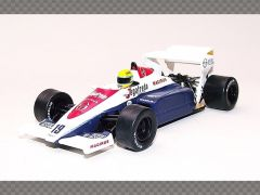 TOLEMAN TG184 - AYRETON SENNA ~ BRITISH GP 1984 | 1:43 Diecast Model Car