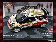 CITROEN DS3 ~ WINNER MONTE CARLO 2013 | 1:43 Diecast Model Car