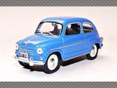 FIAT 600D ~ 1962 | 1:43 Diecast Model Car