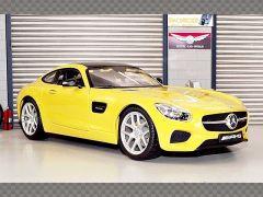 MERCEDES AMG GT ~ YELLOW | 1:18 Diecast Model Car