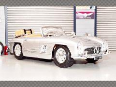 MERCEDES 300SL TOURING 1957 ~SILVER | 1:18 Diecast Model Car