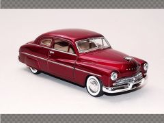 MERCURY COUPE 1949 ~ RED | 1:24 Diecast Model Car
