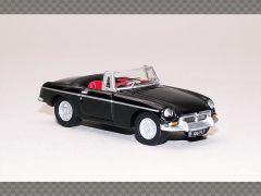 MGB ROADSTER - BLACK   1:76 Diecast Model Car