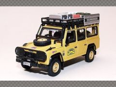 Land Rover Camel Trophy ~ Yellow | 1:64 Diecast Model Car