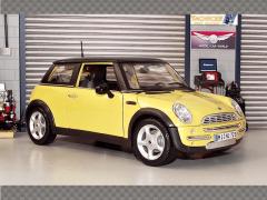 MINI COOPER ~ YELLOW | 1:18 Diecast Model Car