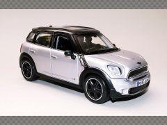 MINI COUNTRYMAN ~ SILVER | 1:24 Diecast Model Car
