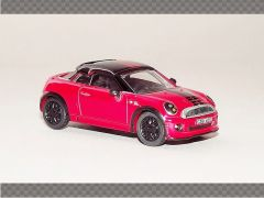 MINI COUPE - RED | 1:76 Diecast Model Car