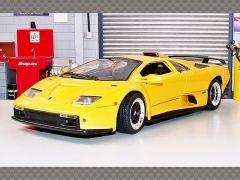 LAMBORGHINI DIABLO GT ~ YELLOW | 1:18 Diecast Model Car
