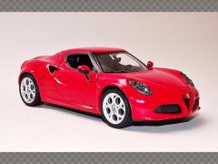 ALFA ROMEO 4C | 1:24 Diecast Model Car