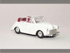 MORRIS MINOR CONVERTIBLE - WHITE | 1:76 Diecast Model Car