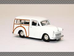 MORRIS MINOR TRAVELLER - WHITE | 1:76 Diecast Model Car