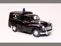 MORRIS MINOR VAN ~ CARDIFF CITY POLICE DOG SECTION | 1:43 Diecast Model Car