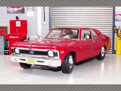 CHEVROLET NOVA SS 1970 ~ RED | 1:18 Diecast Model Car