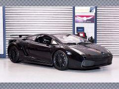LAMBORGHINI GALLARDO SUPERLEGGERA 2008 ~ BLACK | 1:18 Diecast Model Car