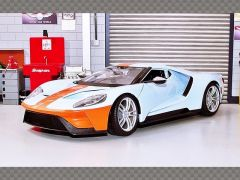 FORD GT 2017 ~ LIGHT BLUE | 1:18 Diecast Model Car