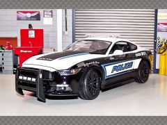 FORD MUSTANG GT ~ POLICE | 1:18 Diecast Model Car