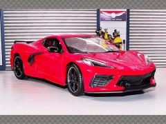 CHEVROLET CORVETTE STINGRAY ~ 2020 | 1:18 Diecast Model Car